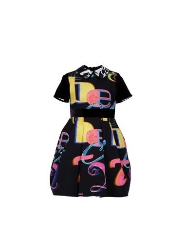 Lia Lea Kız Çocuk Desenli Elbise 20Fwll01724 Renkli